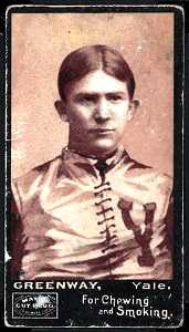 John Greenway 1894 Mayo Cut Plug football card