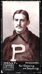 Augustus Holly 1894 Mayo Cut Plug football card