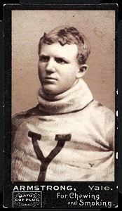 Richard Armstrong 1894 Mayo Cut Plug football card