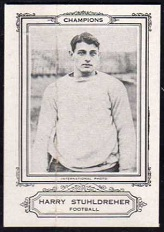 Harry Stuhldreher 1926 Spalding Champions football card
