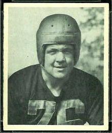 Jack Wiley 1948 Bowman football card