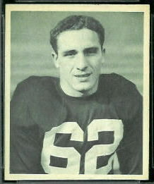 1948 Bowman Charley Trippi football card