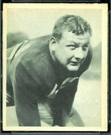 1948 Bowman Vince Banonis football card