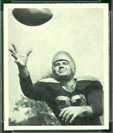 Clyde Goodnight 1948 Bowman football card