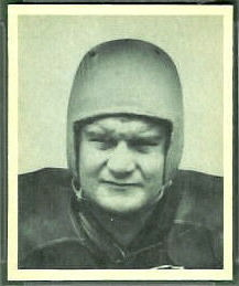 1948 Bowman John Mastrangelo football card