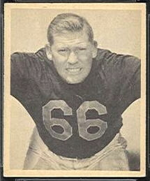 Bulldog Turner 1948 Bowman football card