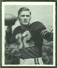 John Lujack 1948 Bowman football card