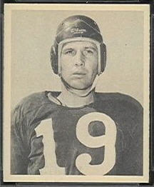 James Peebles 1948 Bowman football card