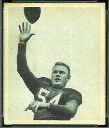 Paul Christman 1948 Bowman football card