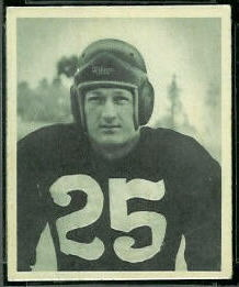 Dick Poillon 1948 Bowman football card