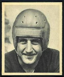Chuck Cherundolo 1948 Bowman football card
