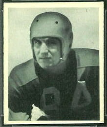Merv Pregulman 1948 Bowman football card