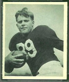 Bill DeCorrevont 1948 Bowman football card