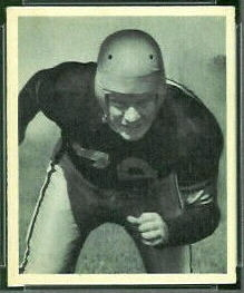 "Bill ""Red"" Moore 1948 Bowman football card"