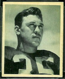 Bill Dudley 1948 Bowman football card