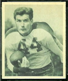 Ben Kish 1948 Bowman football card
