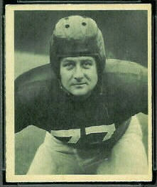 Jim White 1948 Bowman football card