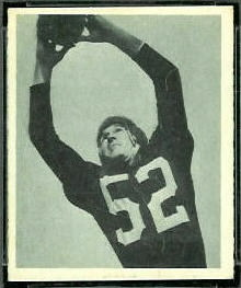 Harry Gilmer 1948 Bowman football card