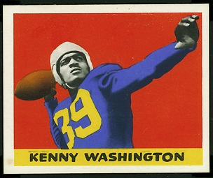 Kenny Washington 1948 Leaf football card