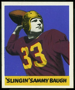 Sammy Baugh 1948 Leaf football card