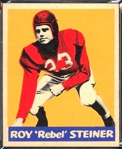 Roy Steiner 1948 Leaf football card