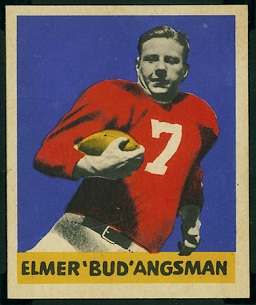 Elmer Angsman 1949 Leaf football card