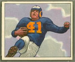 Glenn Davis 1950 Bowman football card