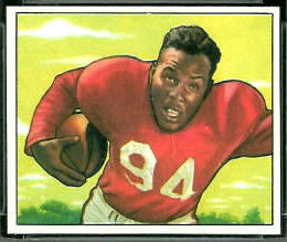 Joe Perry 1950 Bowman rookie football card