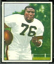 Marion Motley 1950 Bowman football card