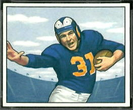 Dick Hoerner 1950 Bowman football card