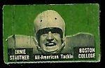 1950 Topps Felt Backs Ernie Stautner