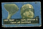 Lindy Berry 1950 Topps Felt Backs football card