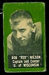 Red Wilson 1950 Topps Felt Backs football card