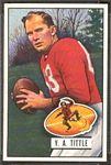 1951 Bowman Y.A. Tittle