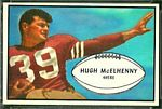 Hugh McElhenny 1953 Bowman football card
