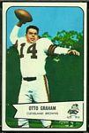 1954 Bowman Otto Graham