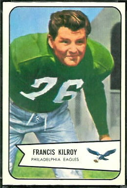 Bucko Kilroy 1954 Bowman football card