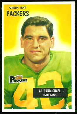 Al Carmichael 1955 Bowman football card