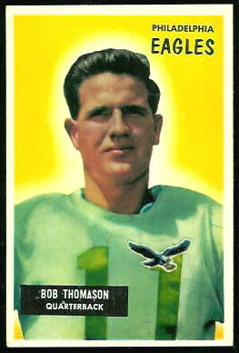 Bobby Thomason 1955 Bowman football card