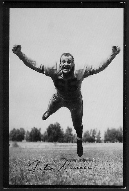 1955 Los Angeles Rams Team Issue photo of Art Hauser
