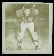 Cal Jones 1956 Parkhurst Canadian football card