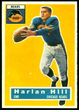 Harlon Hill 1956 Topps football card
