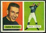 1957 Topps John Unitas