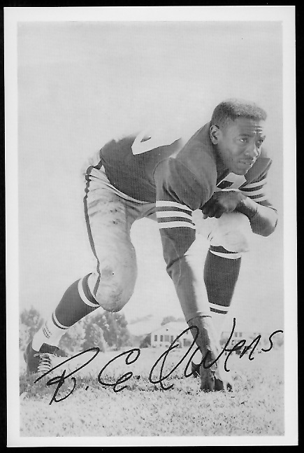 R.C. Owens 1958 49ers Team Issue football card