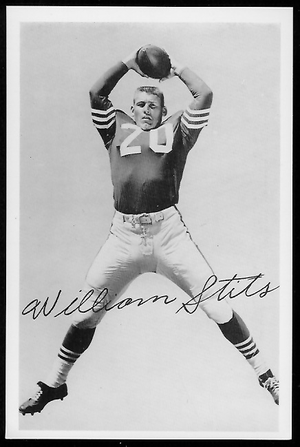 1958 49ers Team Issue Photo of Bill Stits
