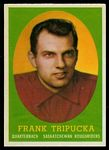 Frank Tripucka 1958 Topps CFL football card