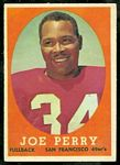 Joe Perry 1958 Topps football card