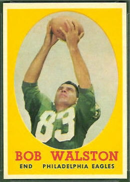 Bobby Walston 1958 Topps football card