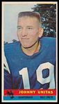 John Unitas 1959 Bazooka football card
