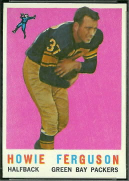 Howard Ferguson 1959 Topps football card